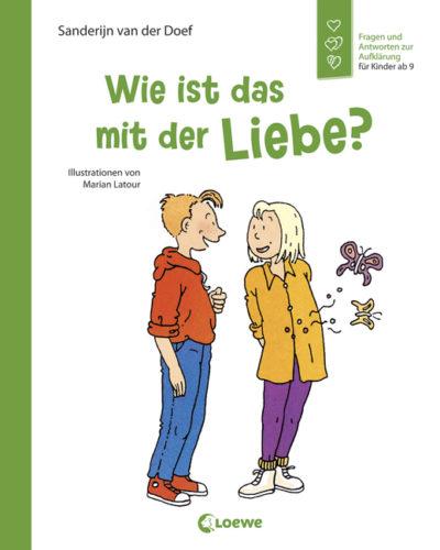 Buchcover: Wie ist es mit der Liebe